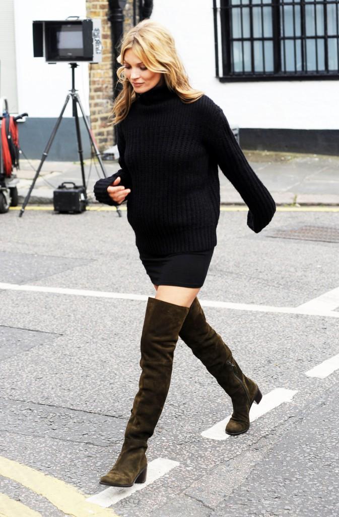 Kate Moss fan des cuissardes !