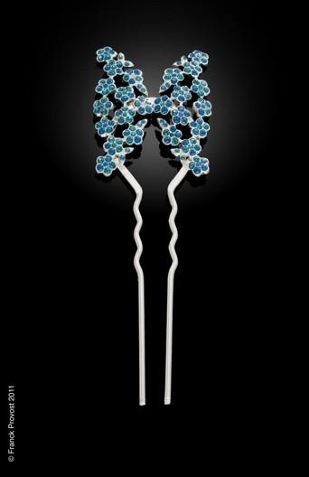Collection de bijoux cheveux Franck Provost pour le 64 ème Festival de Cannes: Le pic papillon