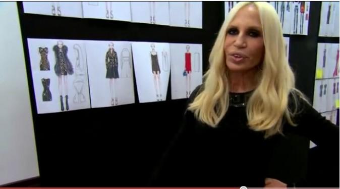 Donatella nous présente ses modèles pour H&M !