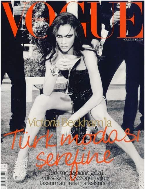 Victoria Beckham pour l'édition turque de Vogue !