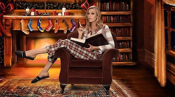 Mode : Victoria's Secret : nos anges réunies dans un conte de Noël !