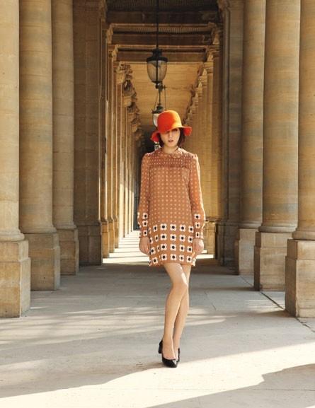 La robe smockée 70's de Mademoiselle Tara !