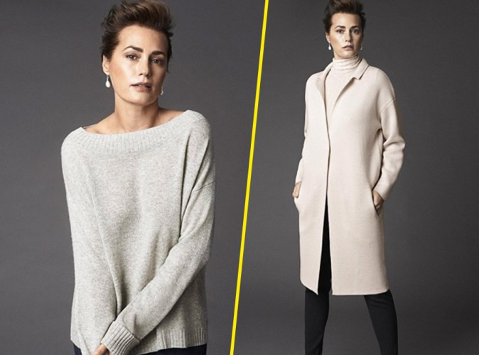 Yasmin Le Bon est à nouveau l'égérie de la marque Winser London pour la saison automne/hiver 2014-2015.