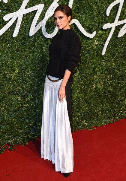 Victoria Beckham a un look unique