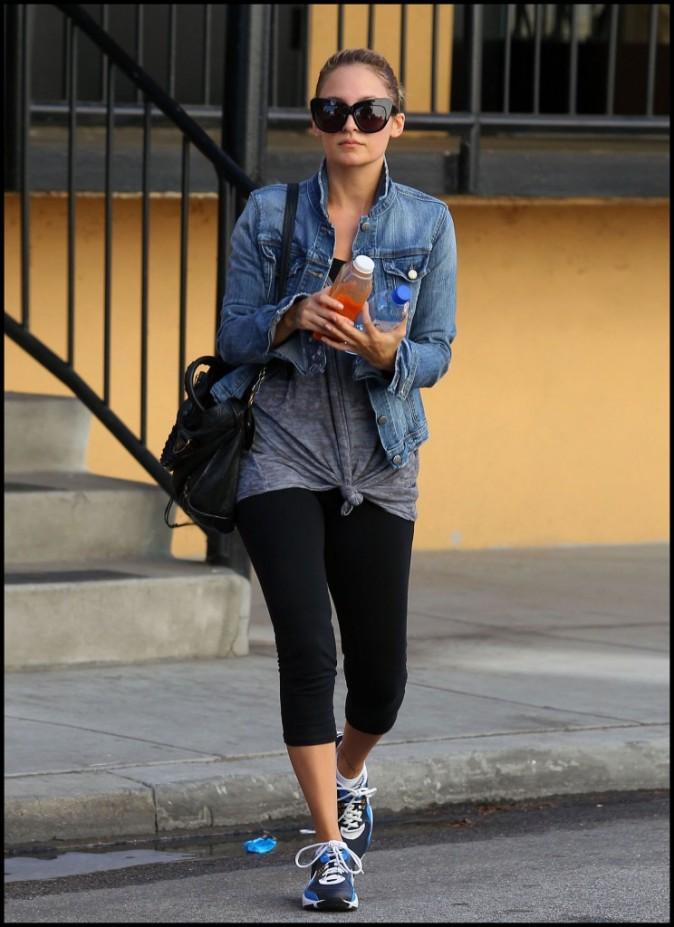 Nicole Richie se rend à son cours de gym