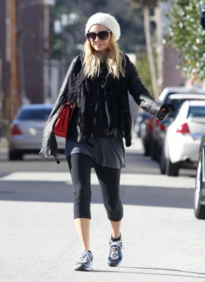 Nicole Richie se rend à son cours de gym à Studio City