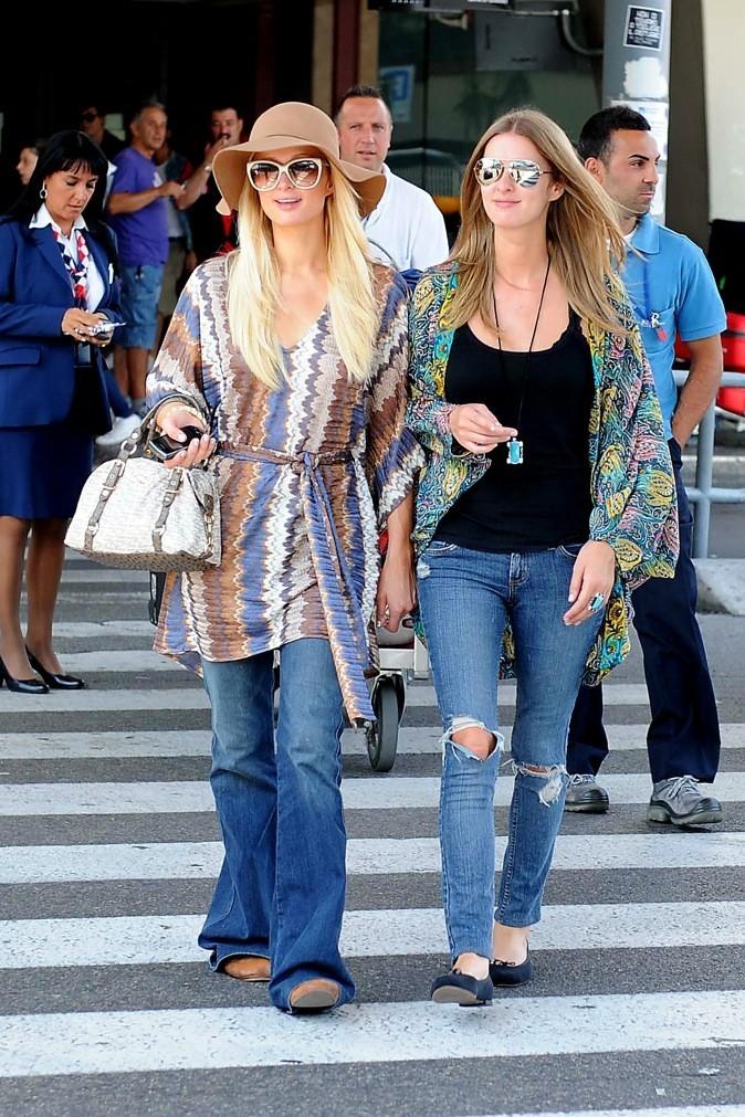 En mode bobo chic les deux soeurs ?