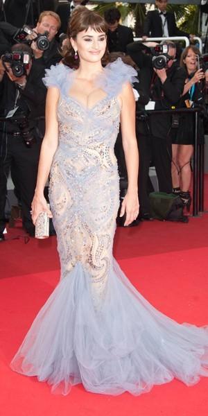 La robe sirène de Penélope Cruz