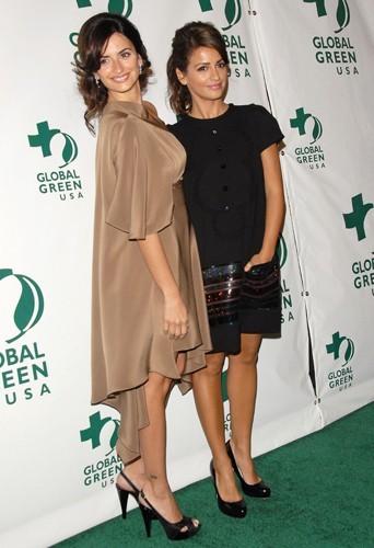 Une petite robe chic pour la soirée Global Green à Los Angeles en 2007. On adore la robe pailletée de Monica
