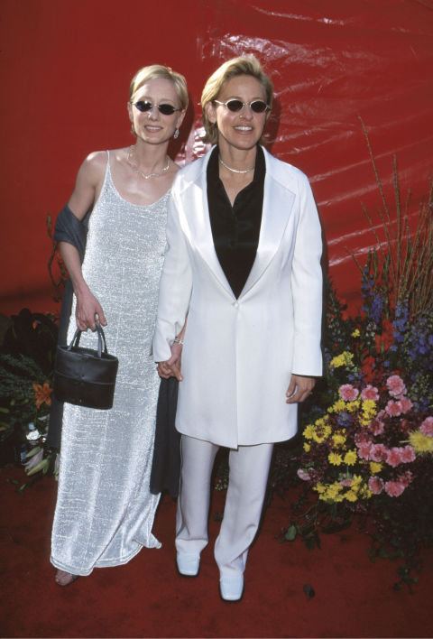 Anne Heche et Ellen DeGeneres