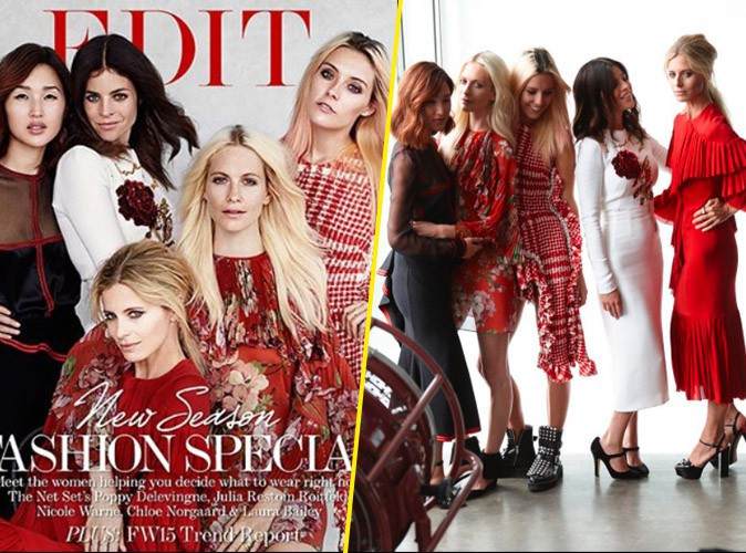 Photos : Poppy Delevingne, Julia Restoin Roitfeld & Co... Cinq beautés pour The Edit by Net-à-porter !
