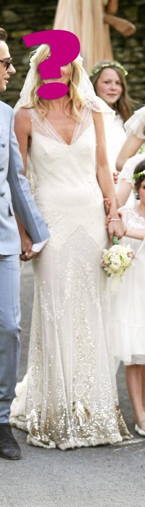 """E- """"En robe John Galliano, mon mariage a été tout sauf rock'n roll."""""""