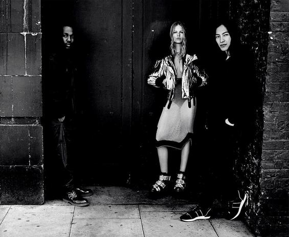 Kendrick Lamar, Anna Ewers et Alexander Wang