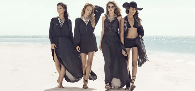 Photos : Adriana, Doutzen, Joan, Natasha époustouflantes pour le shooting et intrépides dans la nouvelle vidéo d'H&M !