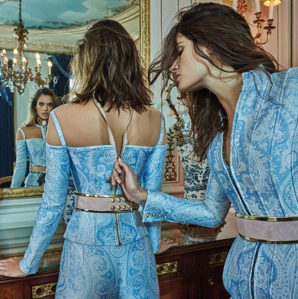 Photos : Alessandra Ambrosio : Les premières images de sa collection ?