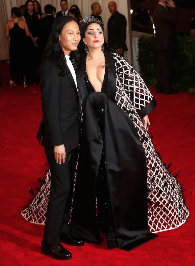 Alexander Wang et Lady Gaga