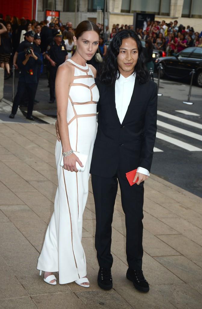 Erin Wasson et Alexander Wang