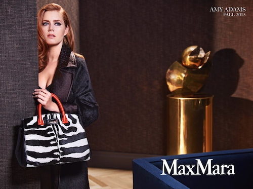 Photos : Amy Adams, une Hollywood Girl chic pour la nouvelle campagne Max Mara !