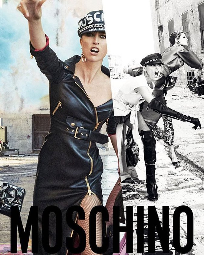 Nouvelle collection Moschino
