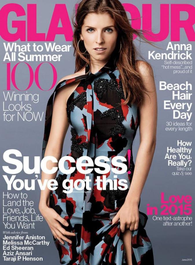 Anna Kendrick : bientôt 30 ans et radieuse en couverture de Glamour !