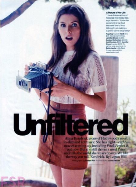 Anna Kendrick : bientôt 30 ans et radieuse pour le magazine Glamour !