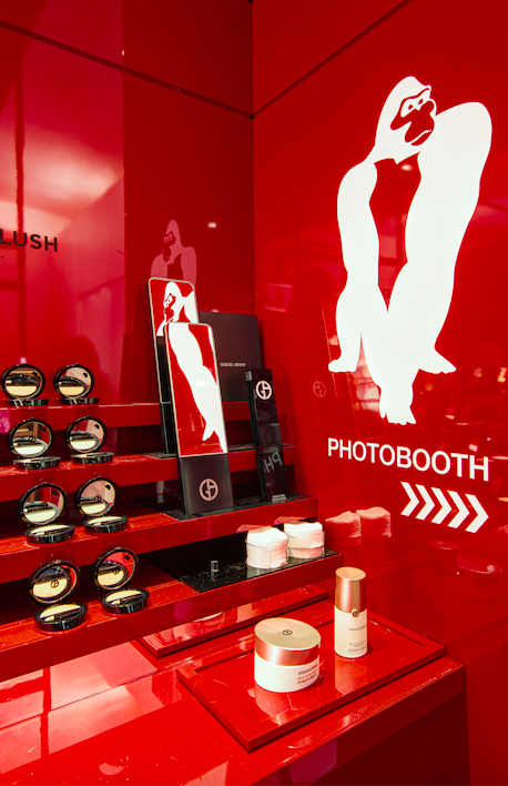 Photos : Armani Beauty lance son premier pop-up store !