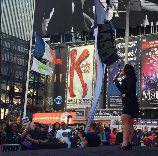 Le mouvement prend de l'ampleur à NY pendant la Fashion Week !