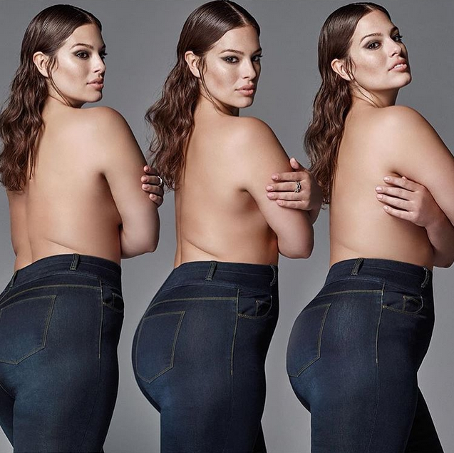 "Photos : Ashley Graham : ""Je pensais que j'était moche, grosse et écoeurante"""