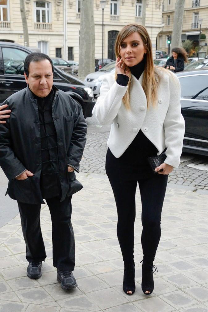 Kim Kardashian et Azzedine Alaïa