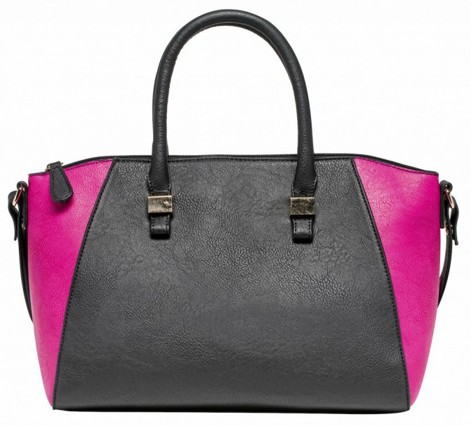 Le sac color block : Gémo 22 €