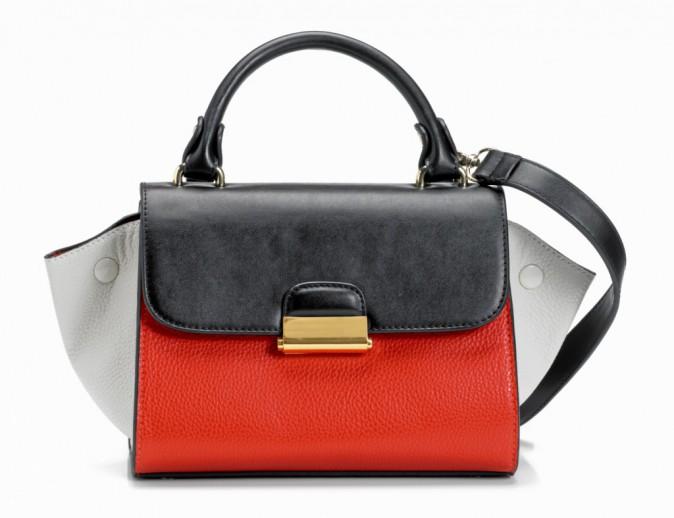 Le sac color block :Mango 44,99 €