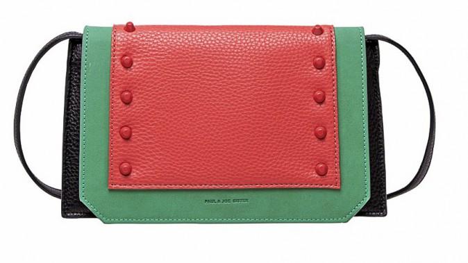 Le sac color block : Paul & Joe Sister 130 €