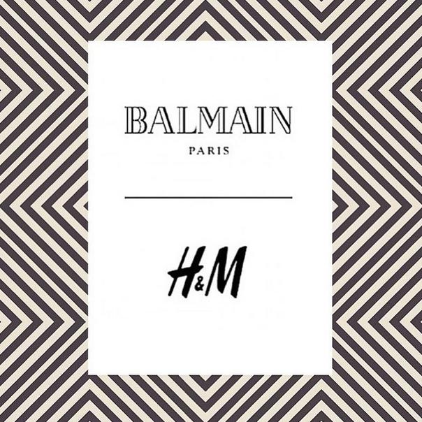 Balmain, nouveau créateur pour H&M !
