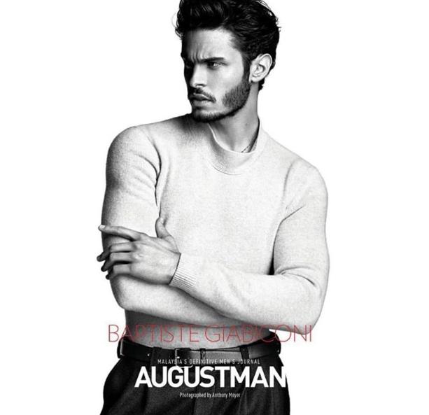 Baptiste Giabiconi pour AugustMan