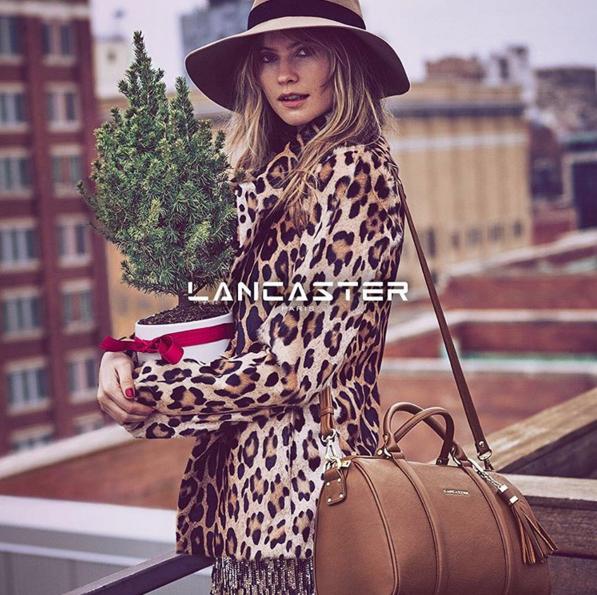 Behati Prinsloo : beauté hivernale pour Lancaster !