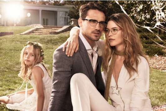 Nouvelle campagne de lunettes de vue Tommy Hilfiger avec Behati Prinsloo