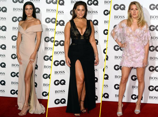 Photos : Bella Hadid, Ashley Graham, Ellie Goulding... Tous les plus beaux looks de la soirée GQ Men of the Year 2016 !