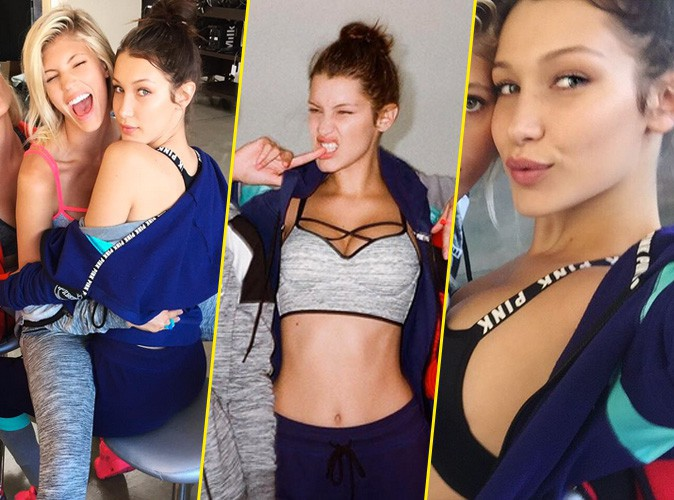 Photos : Bella Hadid, elle rejoint le casting PINK by Victoria's Secret !