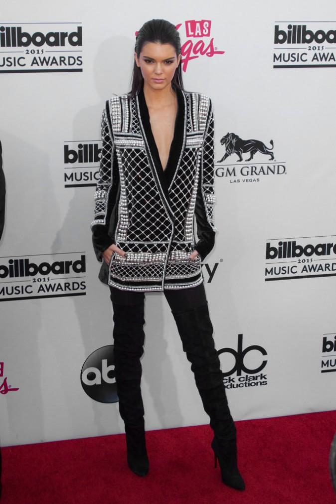 Kendall Jenner en Balmain pour H&M, le 17 mai aux Billboard Music Awards 2015