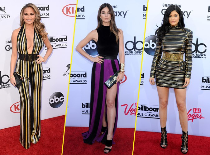 Photos : Billboard Music Awards 2015 : Chrissy, Lily, Kylie... Les beautés glam' du redcarpet !