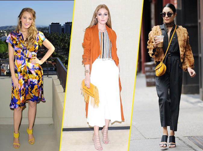 Photos : Blake Lively, Olivia Palermo, Vanessa Hudgens... Le retour du jaune !
