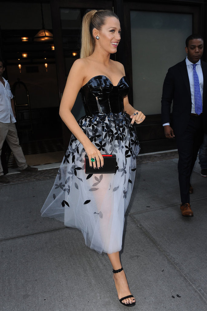 Photos : Blake Lively : retour sur sa folle semaine fashion !
