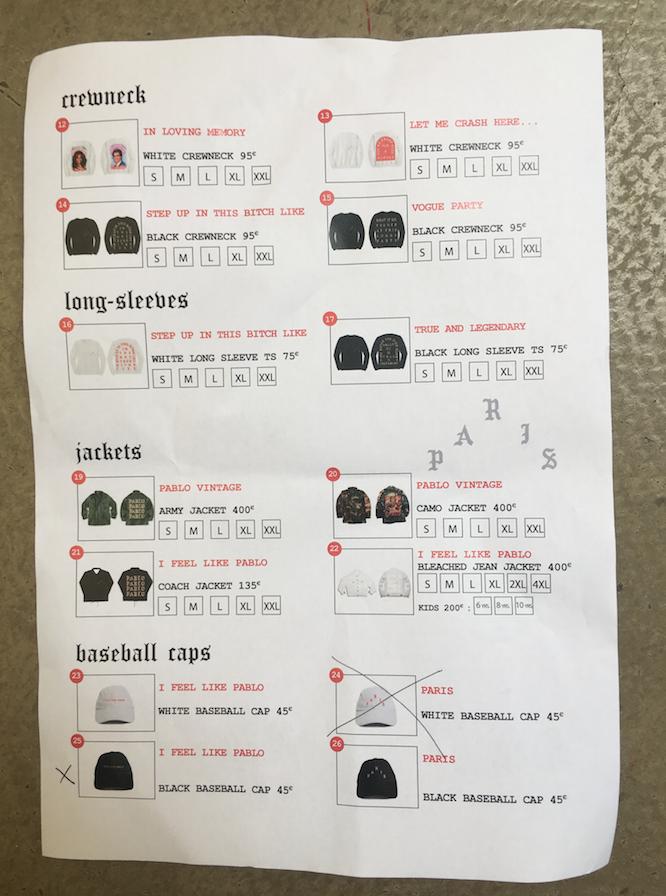Articles en vente et prix
