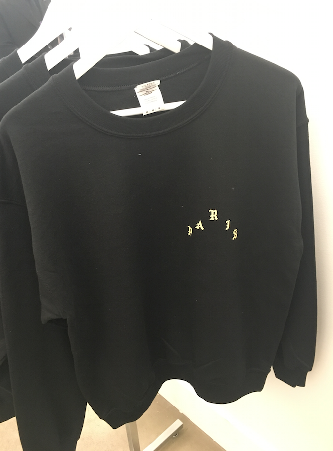 BLACK LONG SLEEVE TS - 75 euros
