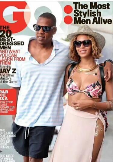Jay Z en couverture de GQ Magazine