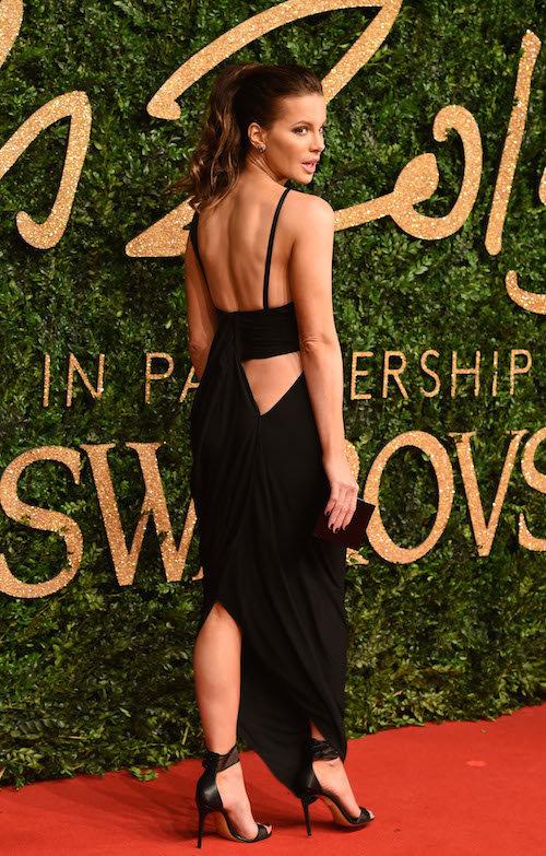 Kate Beckinsale aux British Fashion Awards, à Londres le 23 novembre 2015