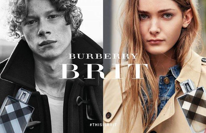 Photos : Brooklyn Beckham : découvrez sa nouvelle campagne pour Burberry Brit