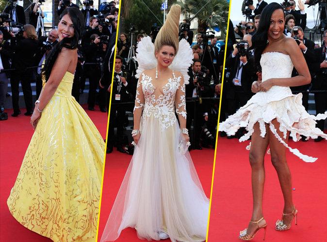 Ayem Nour, Elena Lenina et Vincent Mc Doom au Festival de Cannes 2015