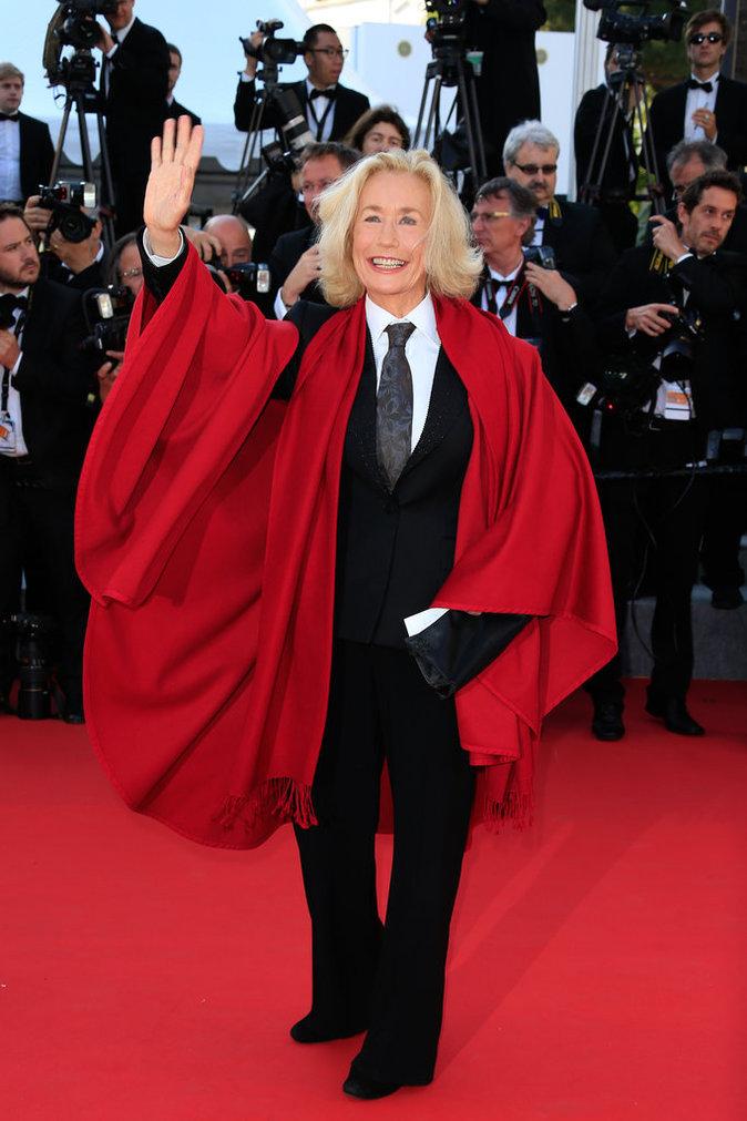 Brigitte Fossey au Festival de Cannes 2015