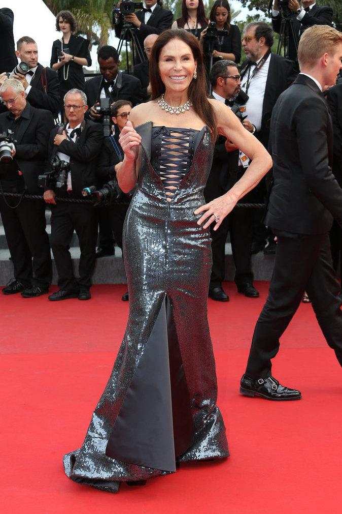 Mouna Ayoub au Festival de Cannes 2015